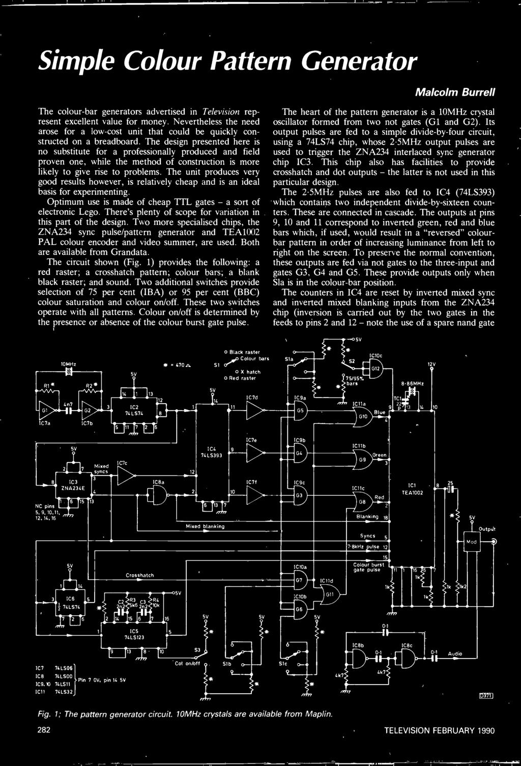 Free Transistor Pack Plus Pdf Oliver 1850 Wiring Diagram Download Schematic Theres Plenty Of Scope For Variation In This Part The Design Two More Specialised