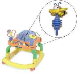 Baby Baby Gear Rapture Evenflo Exersaucer Replacement Toys Three Birds New In Packaging