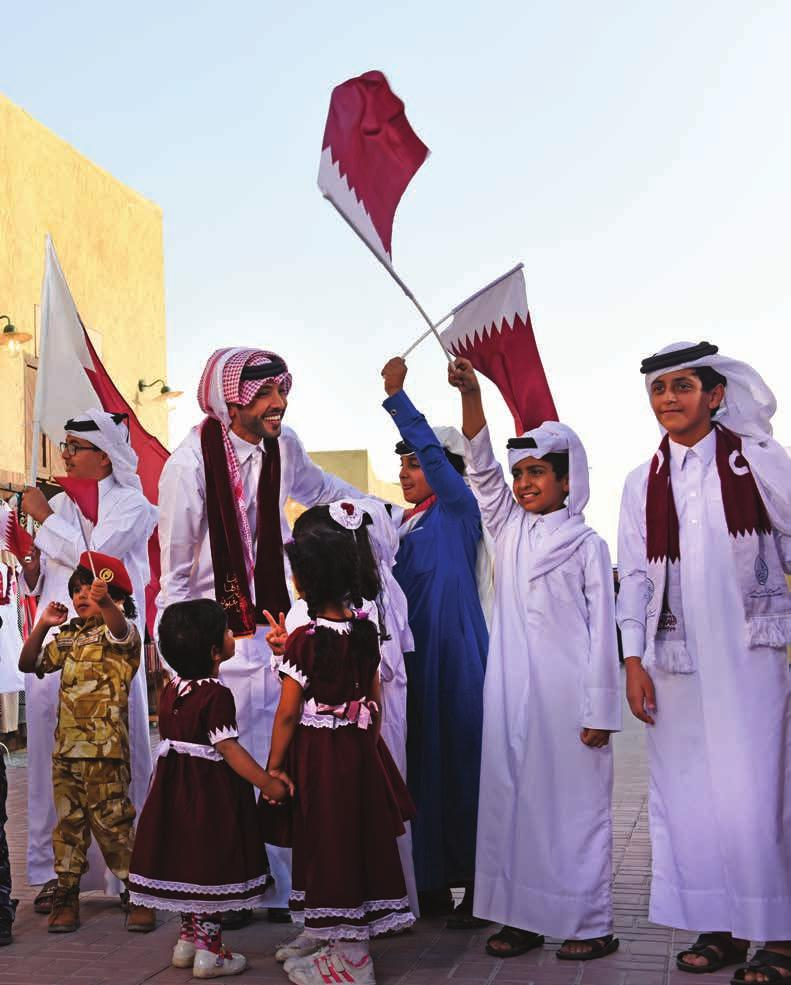 877b7d982 December 2016 ديسمبر 2016 Qatar National Day A celebration of Qatar s  history, spectacular growth