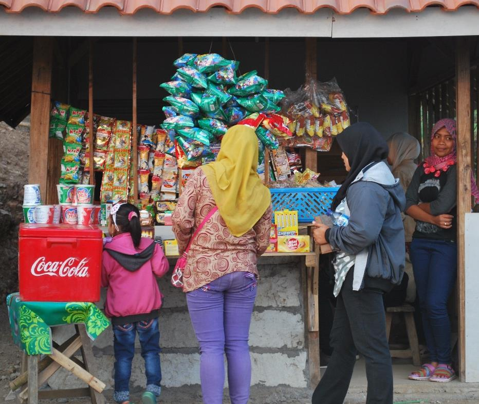 a martabak stand are relative novelties in Indonesia. We are not really used to wait our turn, and especially in Post Offices and in shops we still feel that we need to be helped first.