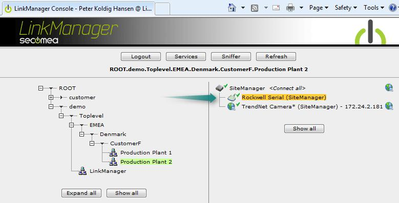 Application Note Rockwell Automation PLC / PAC and RSLinx / RSLogix
