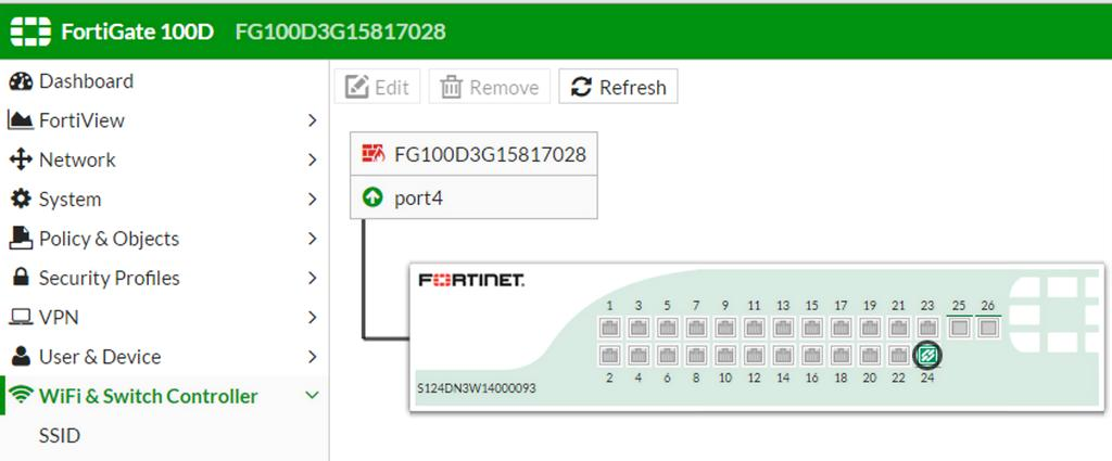 Managed FortiSwitches Using FortiGate - PDF