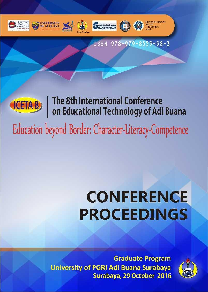 The 8th International Conference On Educational Technology Of Adi