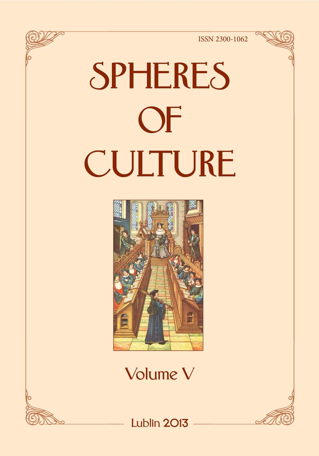 Spheres of culture. Journal of Philology 6ec3f033818a8