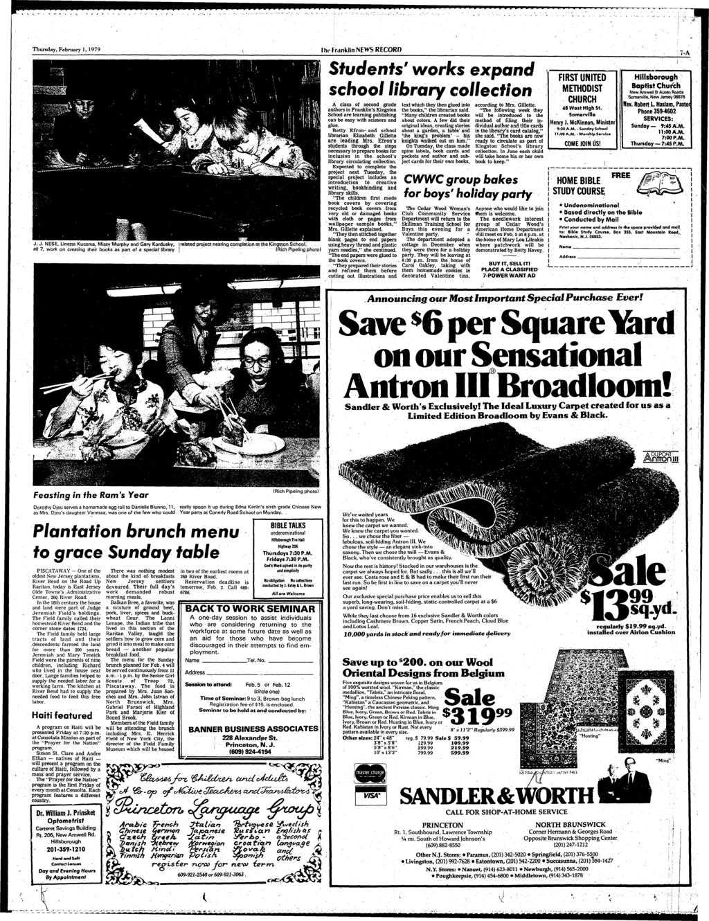 Franklin News Record Petrillo Named To Sewer Position Council Airs Porsche 1973 1914 Fuse Box Diagram Thursday February 11979 J Nese Linette Kucsma Missy Murphy And Gary