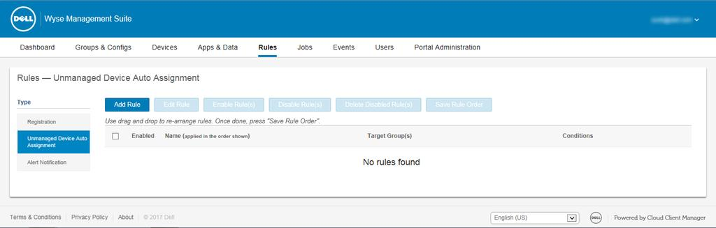 Dell Wyse Management Suite  Version 1 1 Administrator s