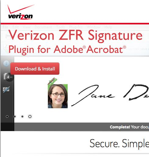 Downloading and Using the Verizon ZFR Plug- In - PDF