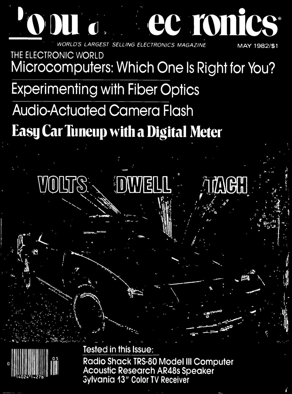 Coniesg Worlds Largest Selling Electronics Magazine May 1982 1 Pdf Flasher Flaser Sen 12 Volt Universal Easy Car Tuneup With A Digital Meter W R T1 O 14024 1427b