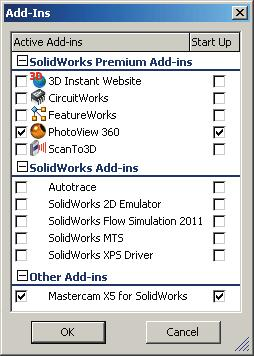 Toolpaths  Chapter 21  A  Enable Mastercam for SolidWorks