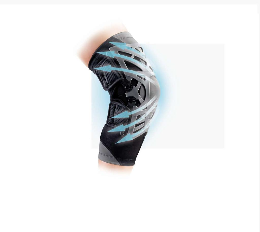 83b1cd3000 Performance & Lifestyle Reaction Knee Brace Every painful action requires a  comfortable reaction The New Reaction