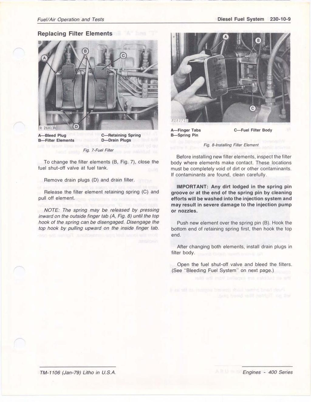 Section 230 Fuel Air Operation And Tests Contents Of This Pdf 1989 300zx Filter Removal Diesel System 10 9 Replacing