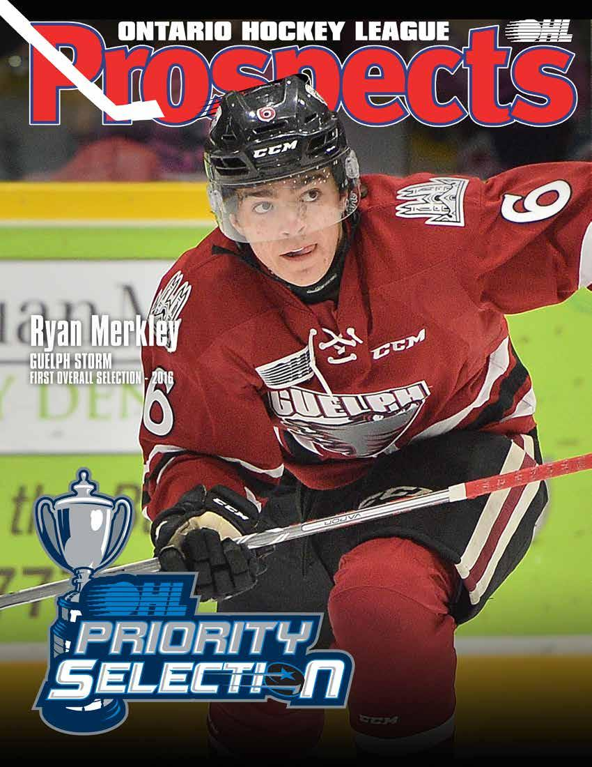 2017 OHL PRIORITY SELECTION INFORMATION GUIDE - PDF