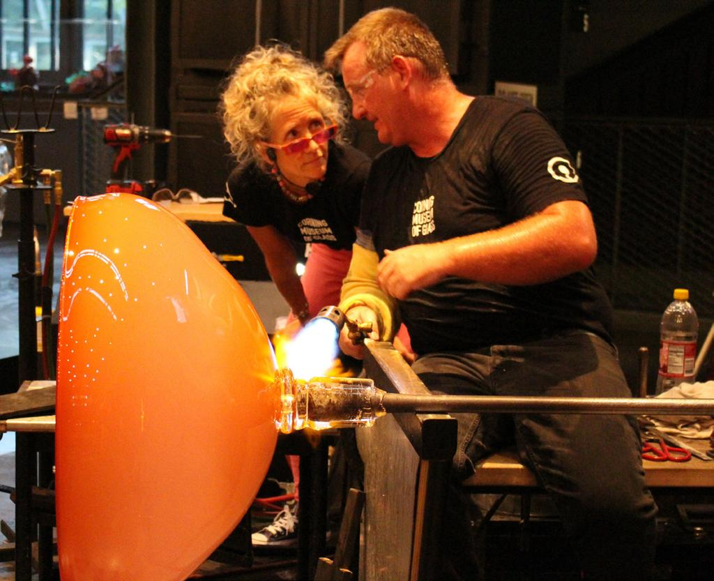 The Corning Museum Of Glass Annual Report Pdf Kain Lapp Candy Shop July 24 30 Instructor Jaime Hayon Glassmakers Jeff Mack
