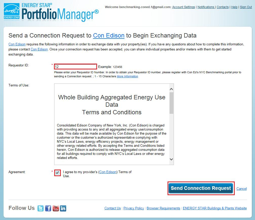 User Guide to the Con Edison Portal for NYC Benchmarking