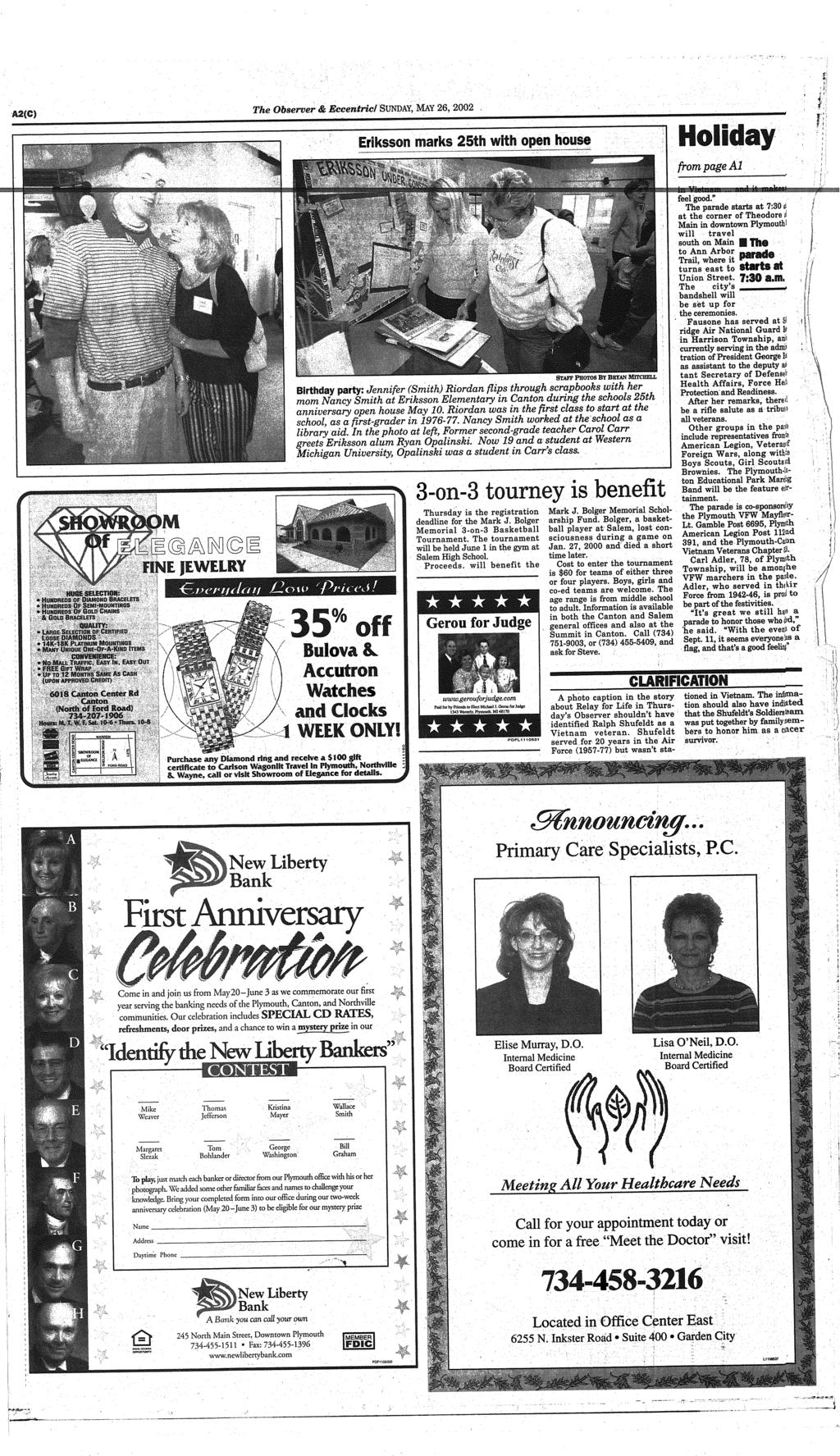 Canton Michigan Pdf Tcash Vaganza 35 Miranda Hair Conditioner The Observer Eccentric Sunday May Eriksson Marks 25th With Open House From Page