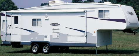 2004 aerolite  lightweight fifth wheels, travel trailers and