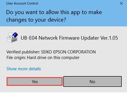 PROCEDURE FOR UPDATING UB-E04 FIRMWARE TO v PDF