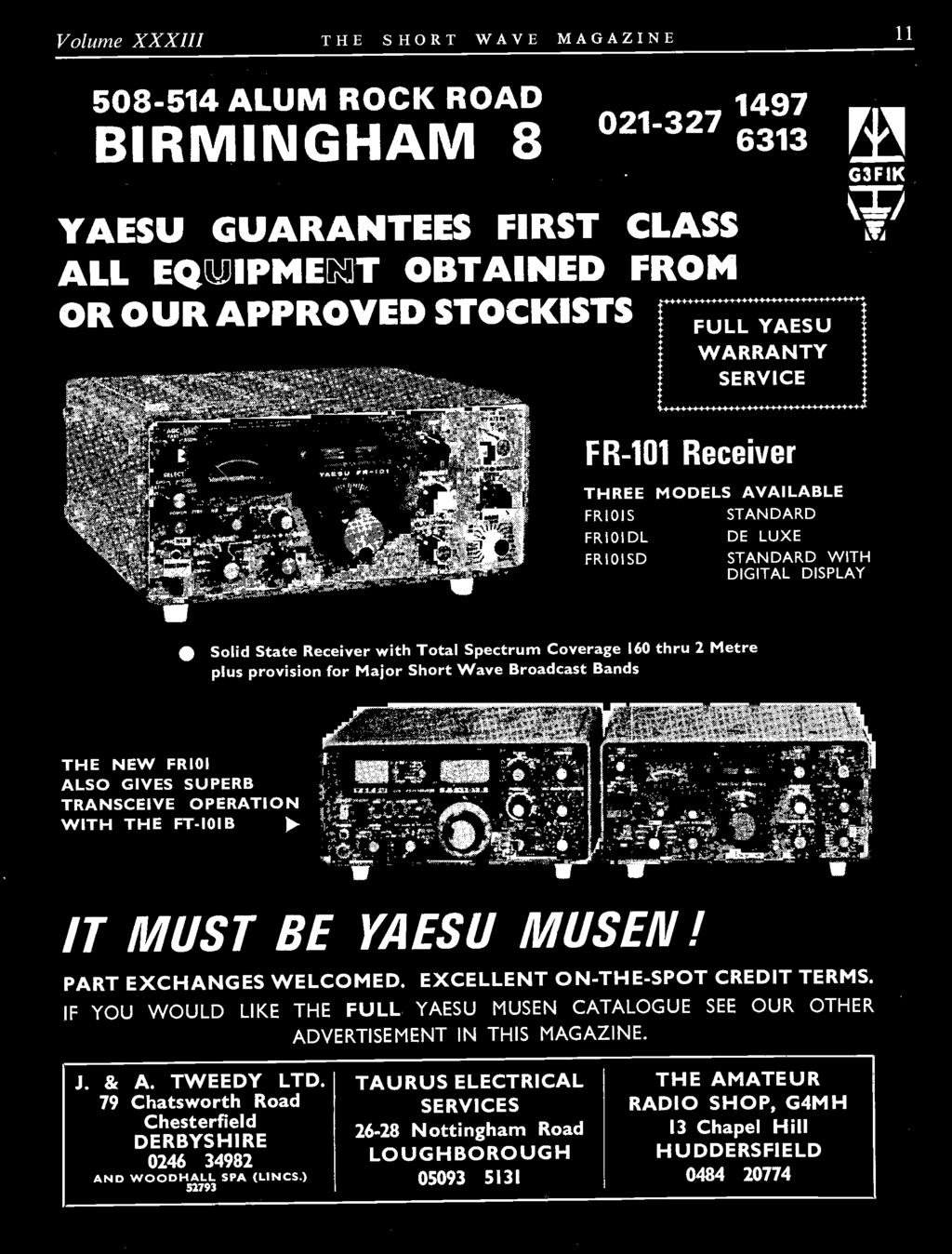 Mistreating Your Rig Communications Products Decca Besides Yaesu Mic Wiring Diagrams On Rca Cable 3 Pole Diagram If You Would Like The Full Musen Catalogue See Our Other Advertisement In This Magazine
