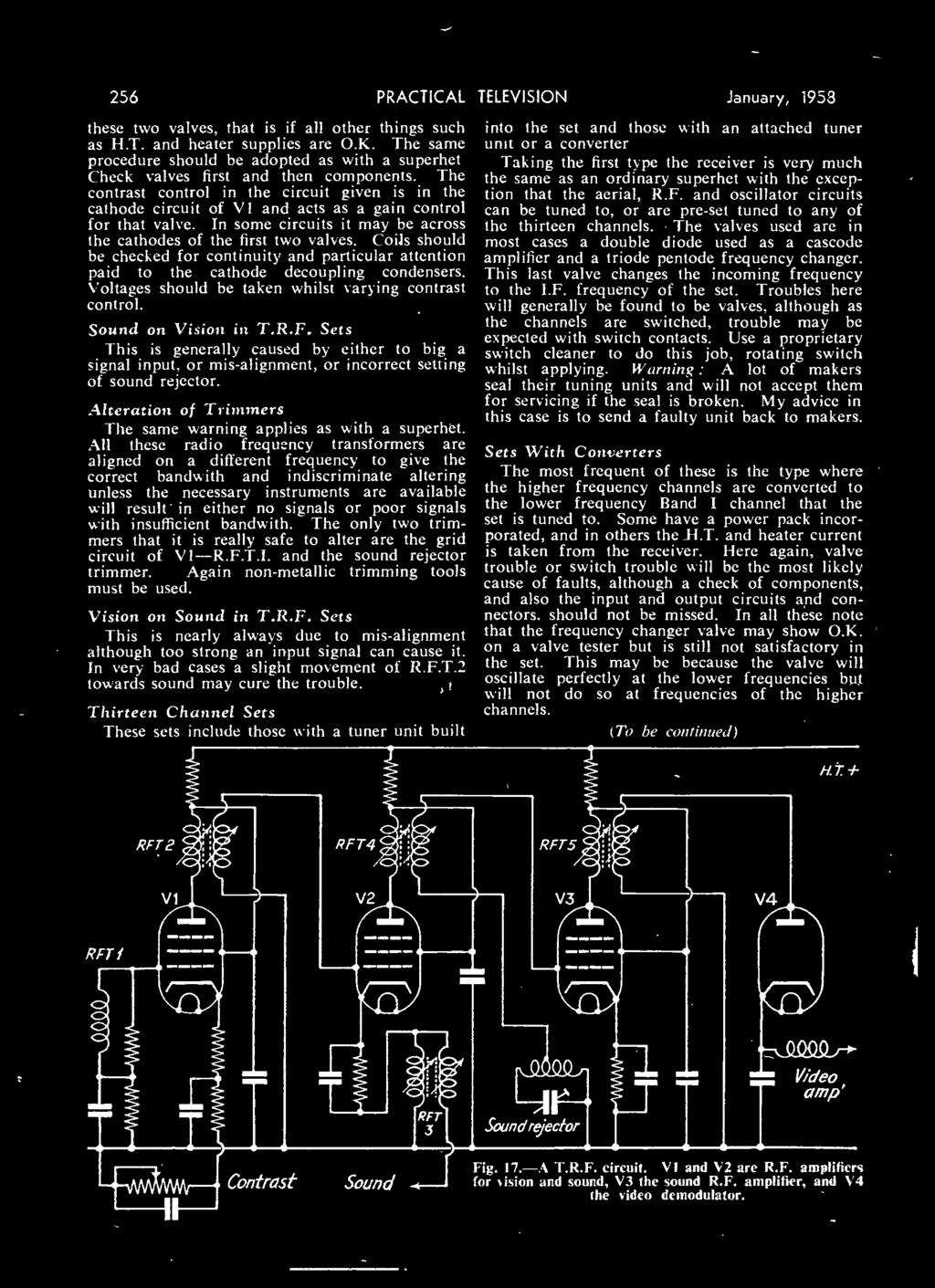 Making A Valve Voltmeter Pdf Police Siren Sound Circuit Diagram On Sel Generator Schematic 256 Practical These Two Valves That Is If All Other Things Such As Ht And
