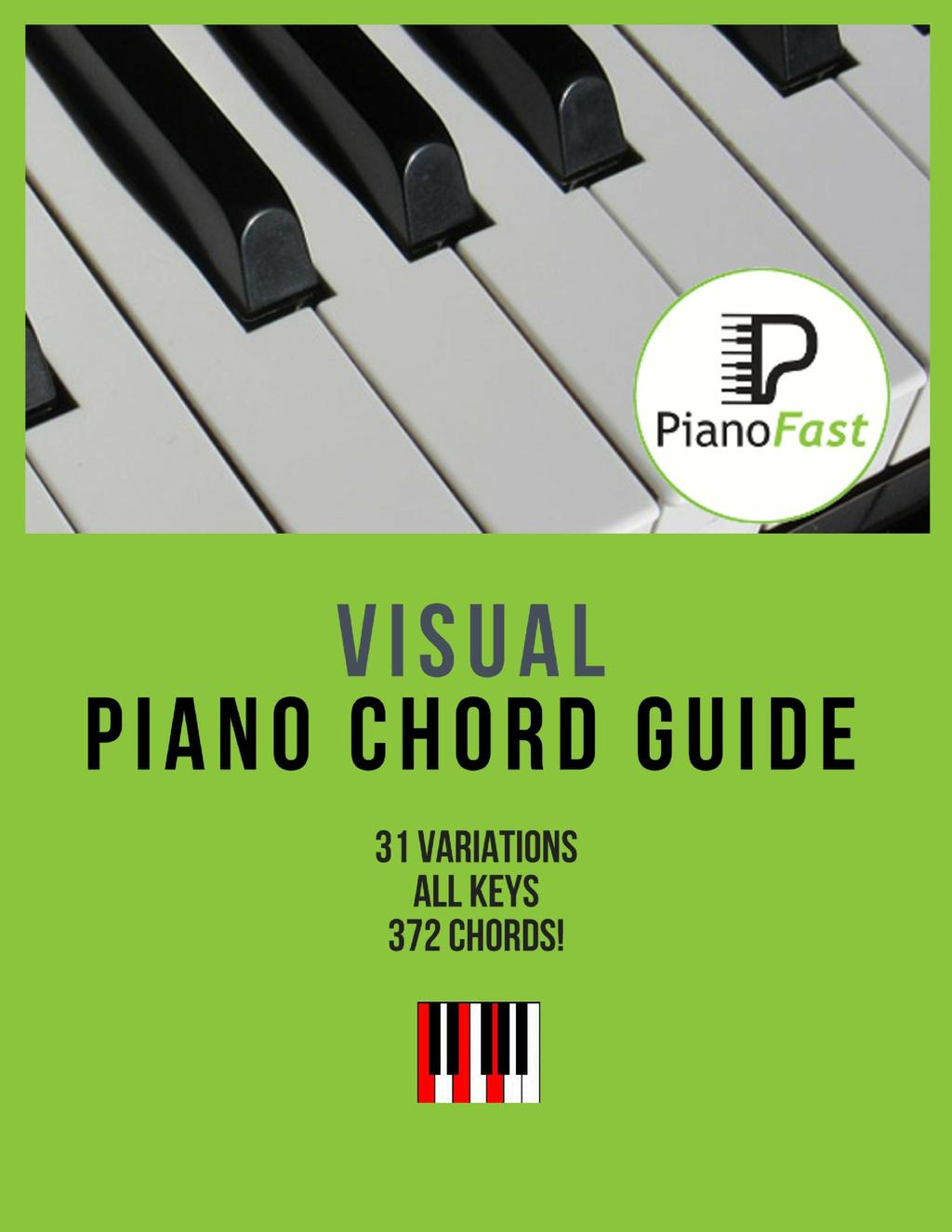 Introduction This guide does NOT contain every piano chord