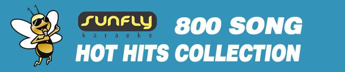Sunfly Karaoke Premium Content 800 Songs Over 80,000 MP3+G