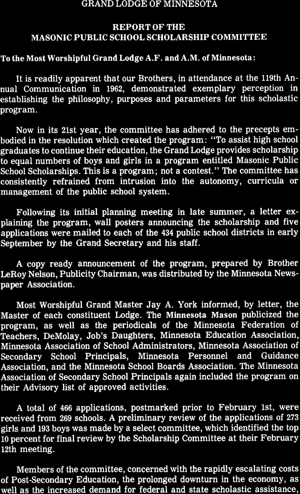 Grand Lodge Of Minnesota Jaya York Grand Master Pdf Free