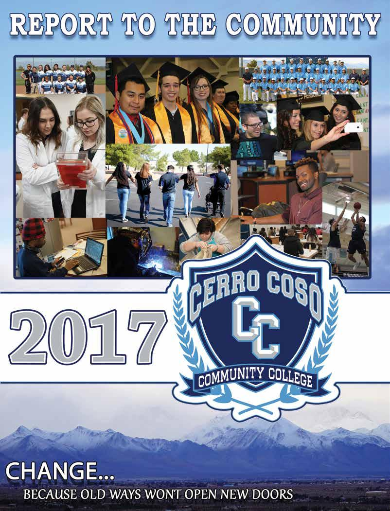 President s Message  Kern Community College District  Cerro Coso