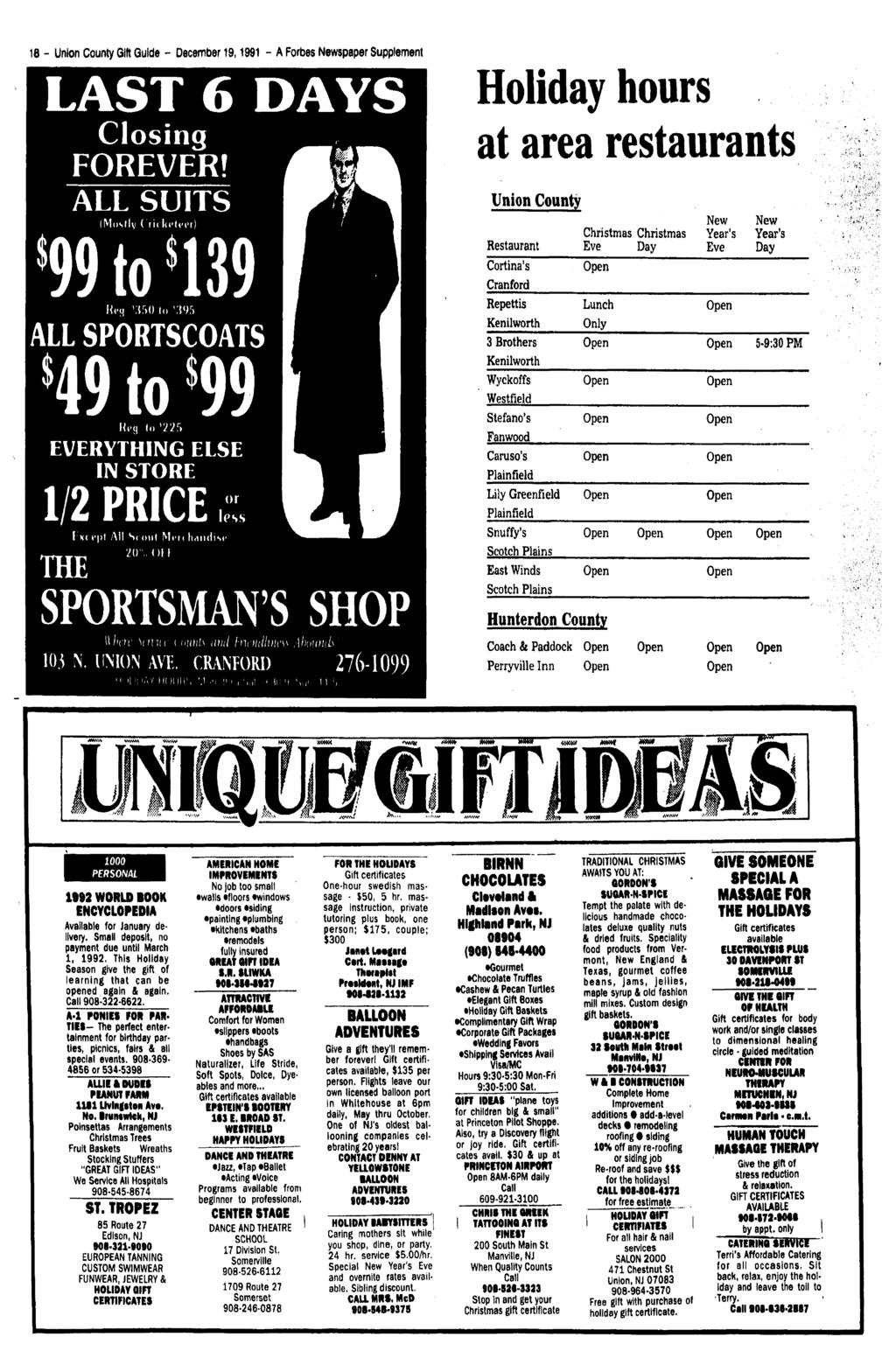 free shipping 6902e 58418 TheWestfield Record Vol. 2. No. 51 Thursday, December 19,1991 A Forbes  Newspaper locents - PDF