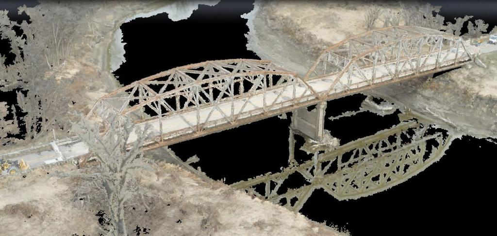 Unmanned Aircraft System Bridge Inspection Demonstration