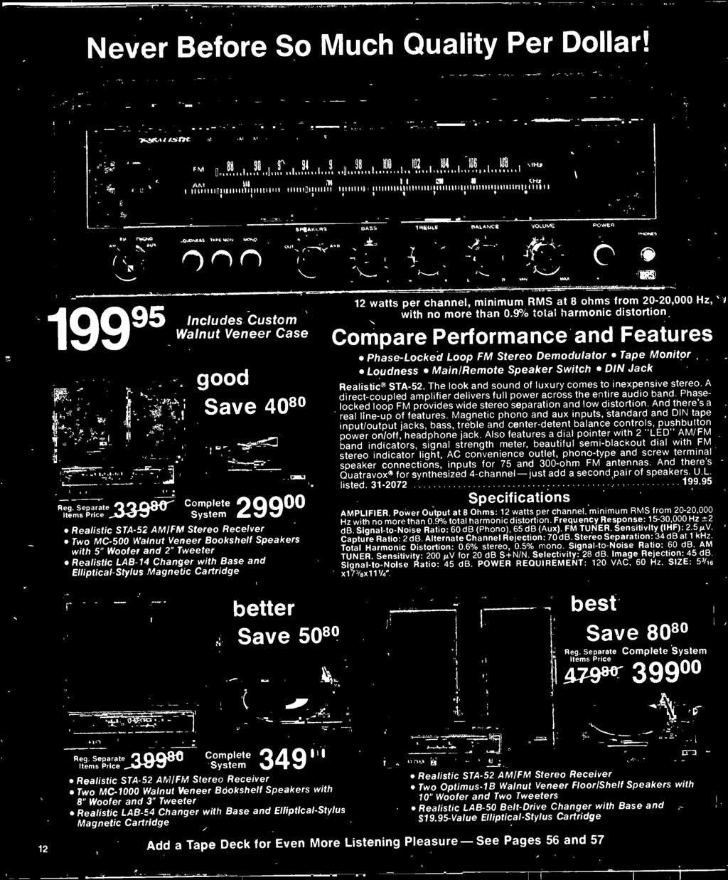 1977 Electronics Catalog Pdf Led Pattern Flasher Using 555 Timer 4017 Counter And 2n2222a 9 Total Harmonic Distortion Compare Performance Features Phase Locked Loop Fm Stereo Demodulator