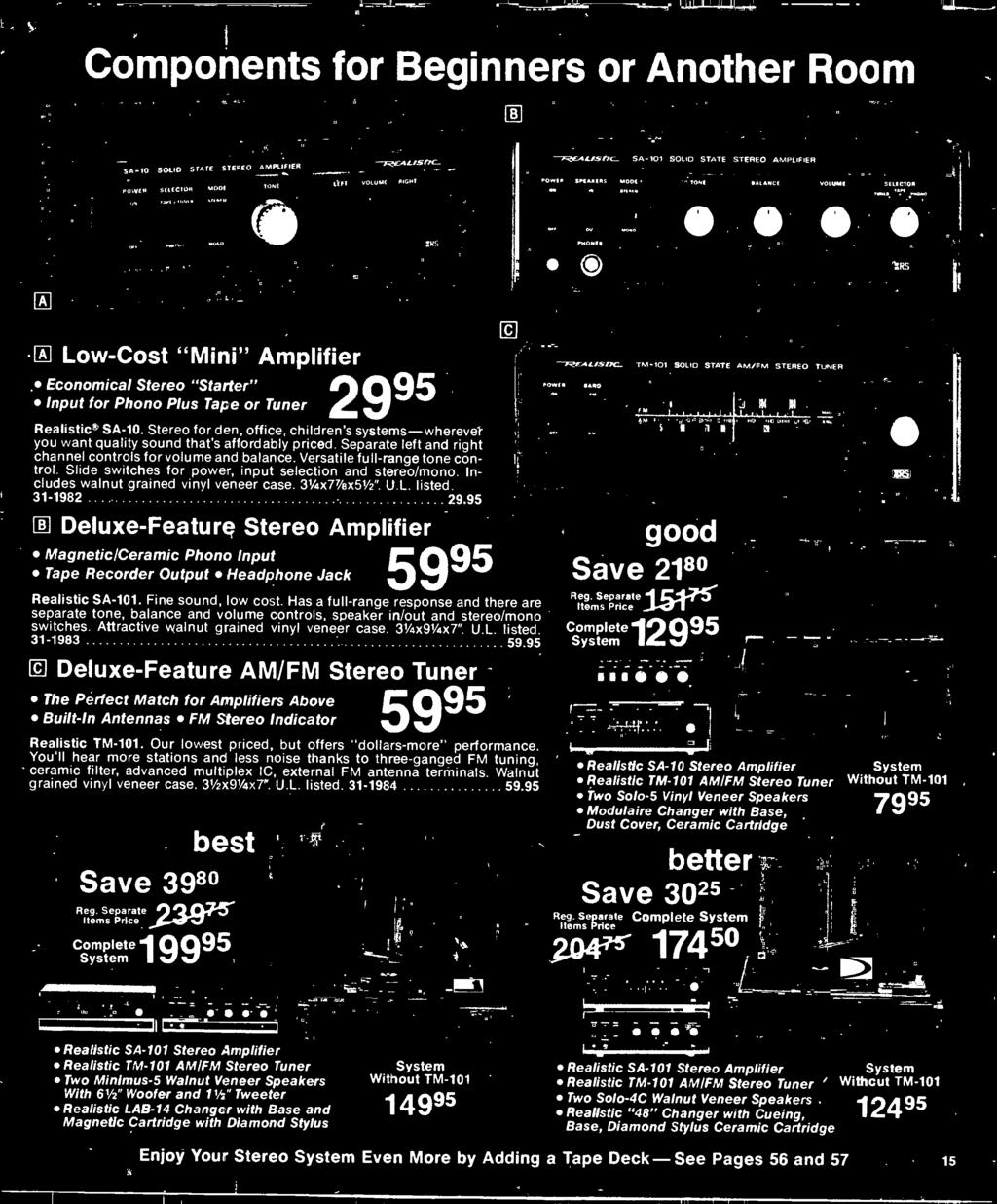 1977 Electronics Catalog Pdf Fet Preamp With Tone Control By 2n3819 Has A Full Range Response And There Are Separate Balance Volume Controls