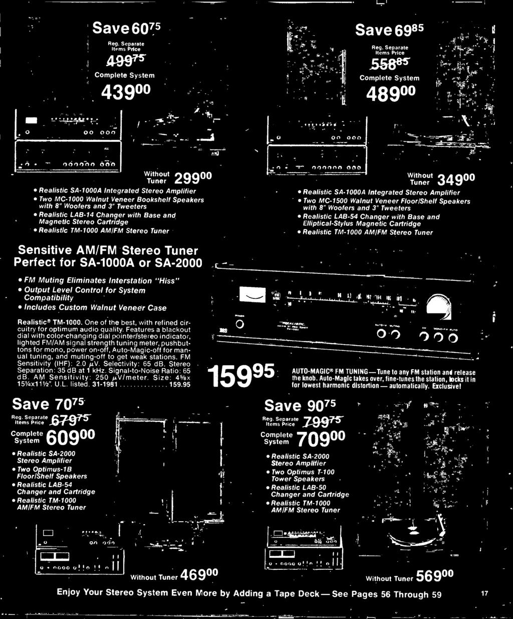 1977 Electronics Catalog Pdf Audio Amplifier Circuit With 2n3055 P Marian N Without Tuner Realistic Sa 1000a Integrated Stereo Two Mc 1500 Walnut Veneer