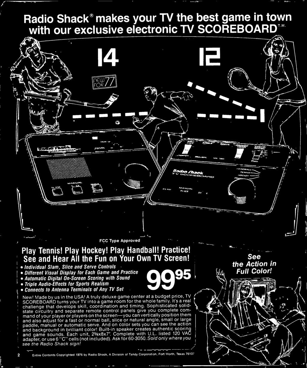 1977 Electronics Catalog Pdf Tone Generator By 2n4891 Electronic Projects Circuits Its A Real Challenge That Develops Skill Coordination And Timing