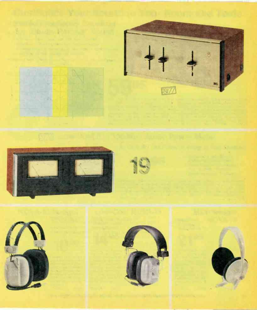 1977 Electronics Catalog Pdf Frequency Brighteners Guitar Effect Schematic Diagram Customize Your Sound To Room And Taste Stereo Equalizer For Studio Perfect
