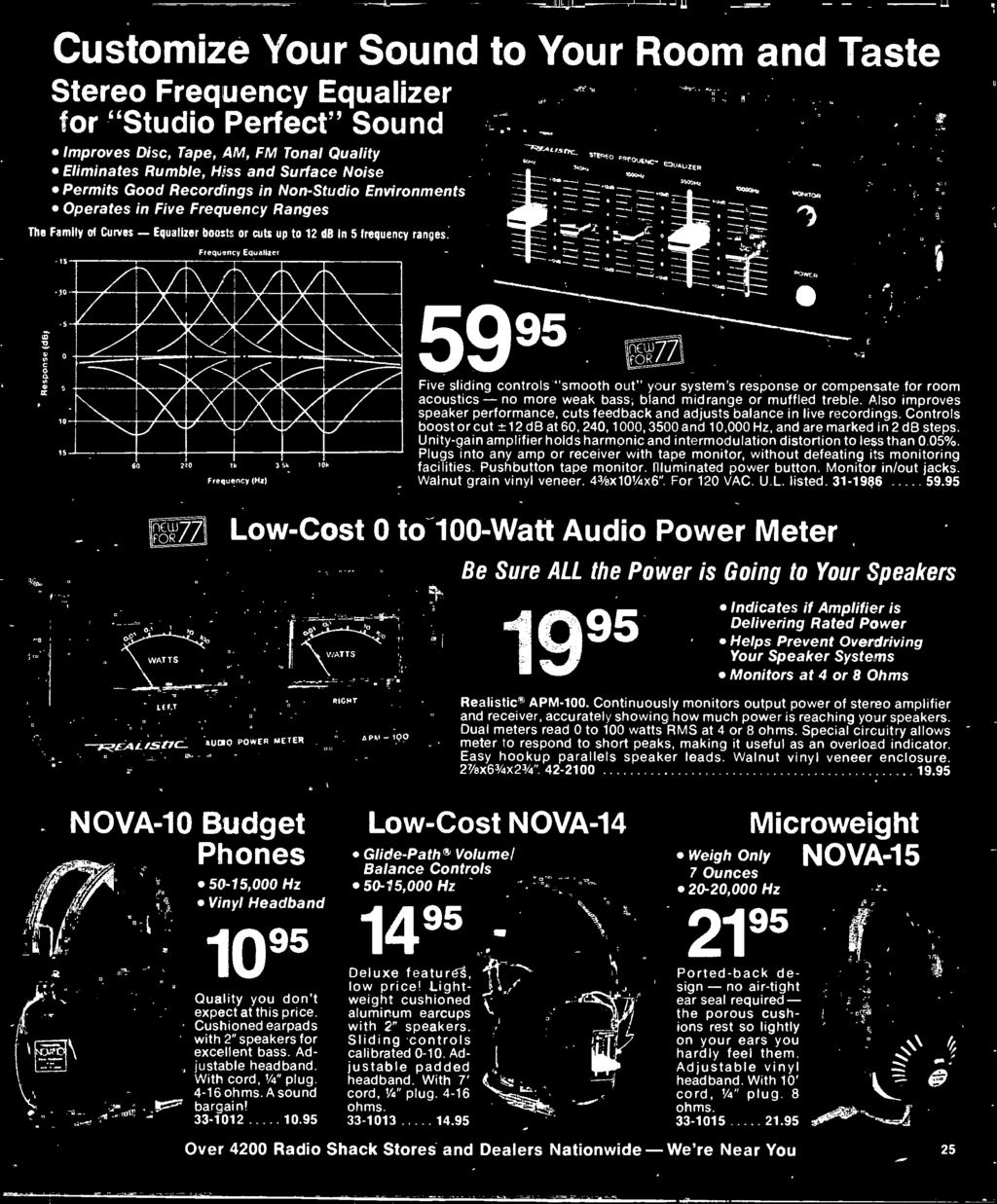 1977 Electronics Catalog Pdf Frequency Brighteners Guitar Effect Schematic Diagram Bland Midrange Or Muffled Treble Also Improves Speaker Performance Cuts Feedback And Adjusts Balance