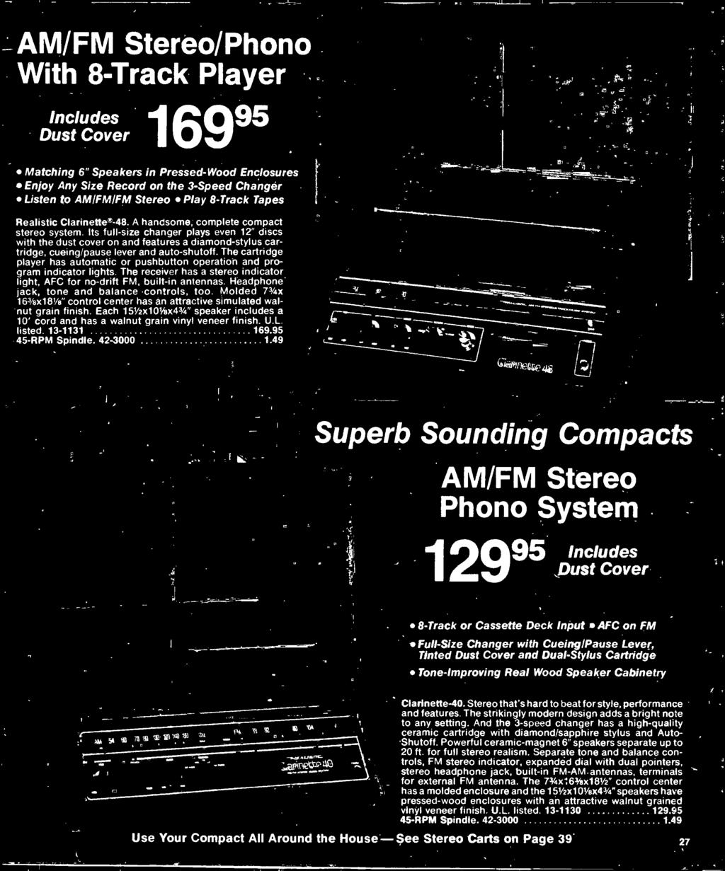 1977 Electronics Catalog Pdf Fet Preamp With Tone Control By 2n3819 Headphone Jack And Balance Controls Too Molded 73 4x 163