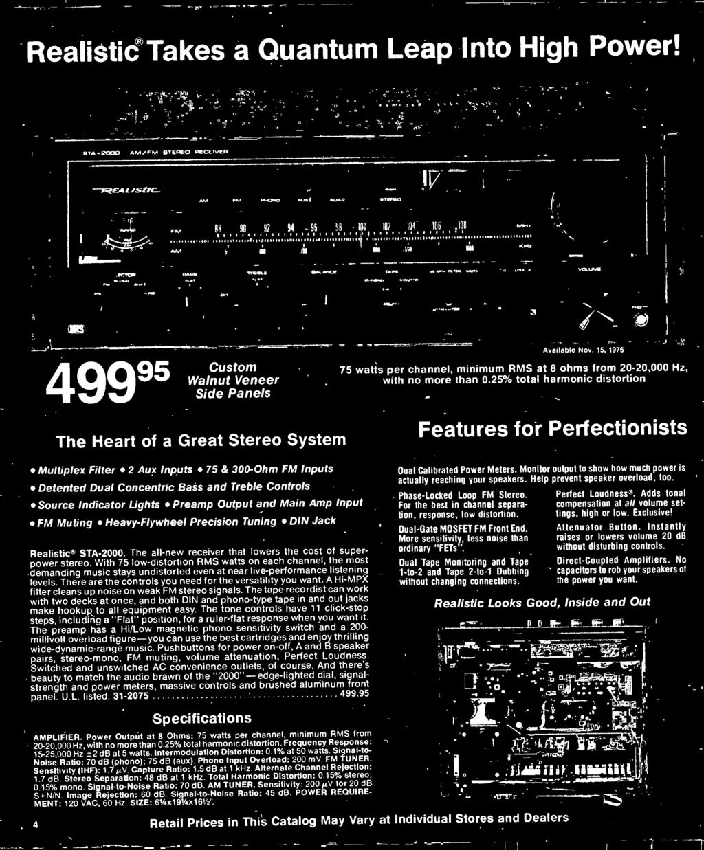 1977 Electronics Catalog Pdf Lm1800 Fm Stereo Demodulator Circuit Diagram There Are The Controls You Need For Versatility Want A Hi Mpx