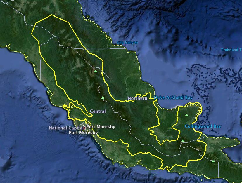 WORLD HERITAGE TENTATIVE LISTED SITES IN PAPUA NEW GUINEA  REPORT ON