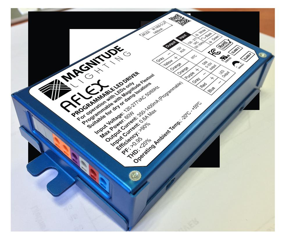 Aflex Magnitude 30w Programmable Led Driver Quick Specs Wiring Diagram For Transcription
