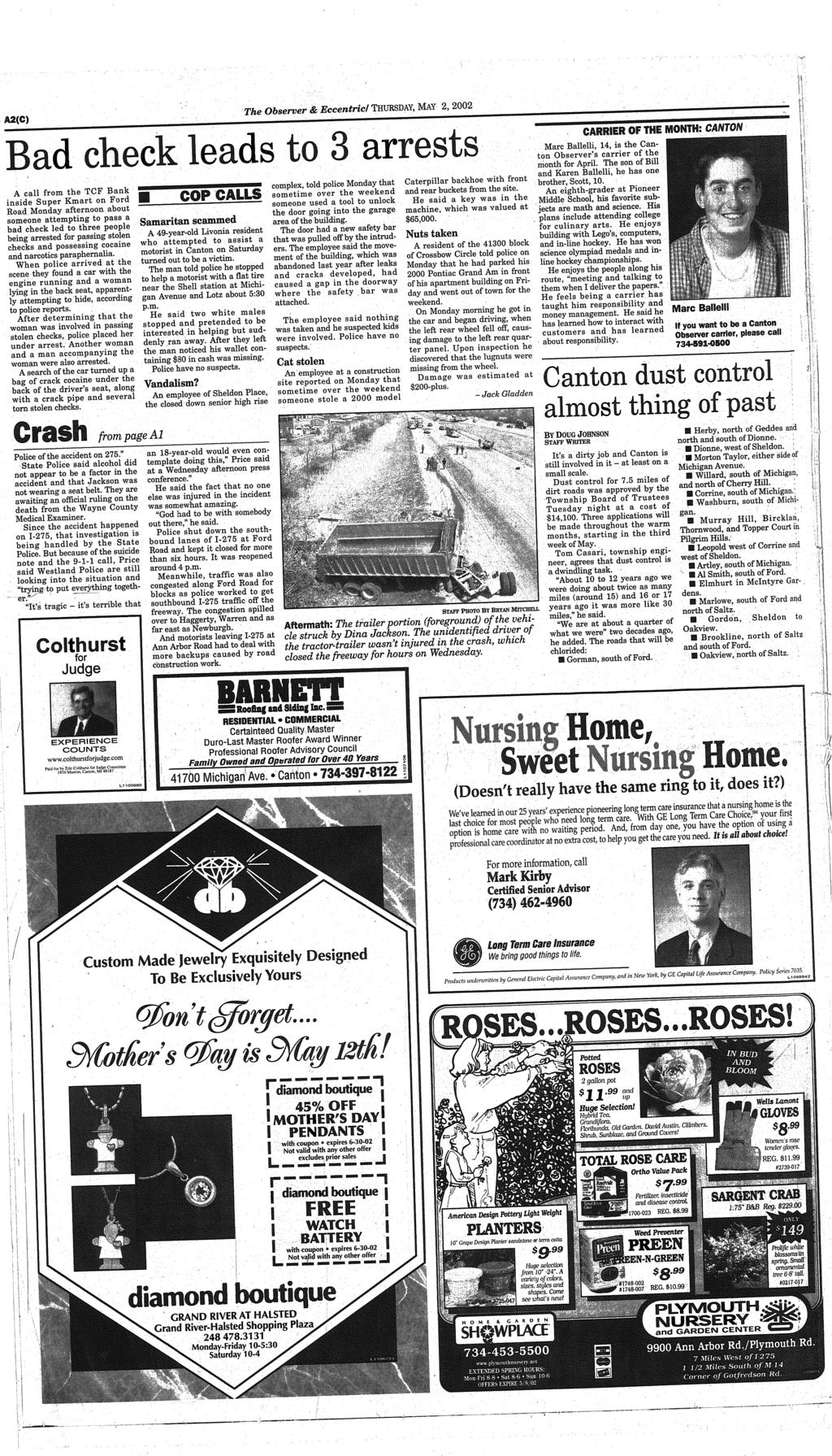 d43b7b5475e Your hometown newspaper serving Canton for 27 years. www ...