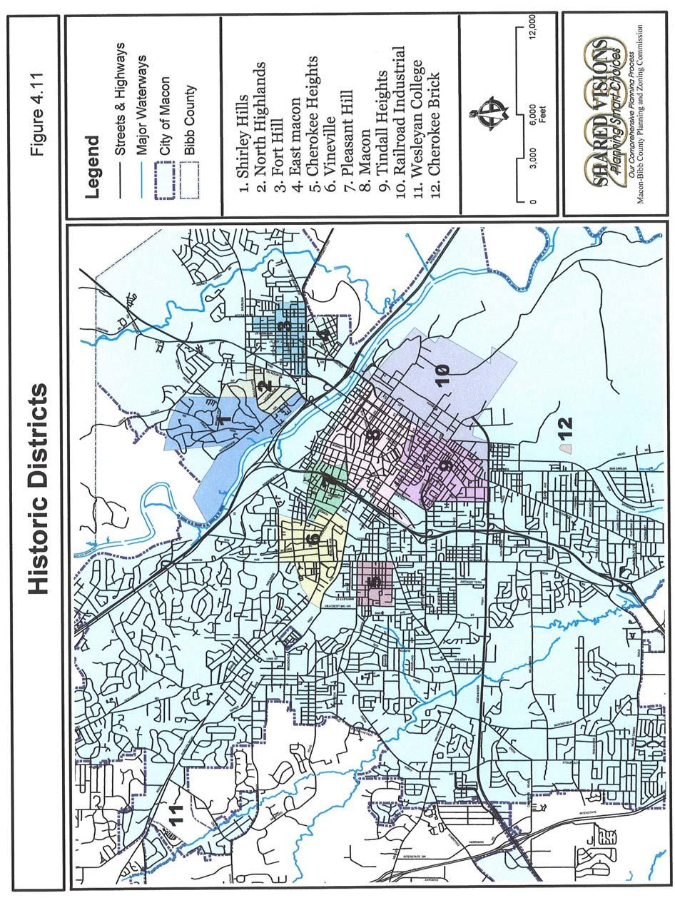 Macon Bibb County Planning Zoning Commission Comprehensive Plan