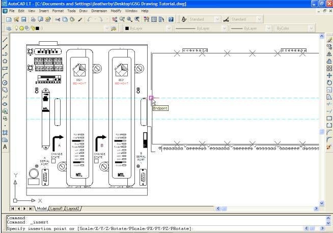 PAC8000 Engineering Drawing Library Getting Started Guide - PDF