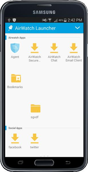 VMware AirWatch Launcher Guide Configuring and deploying the