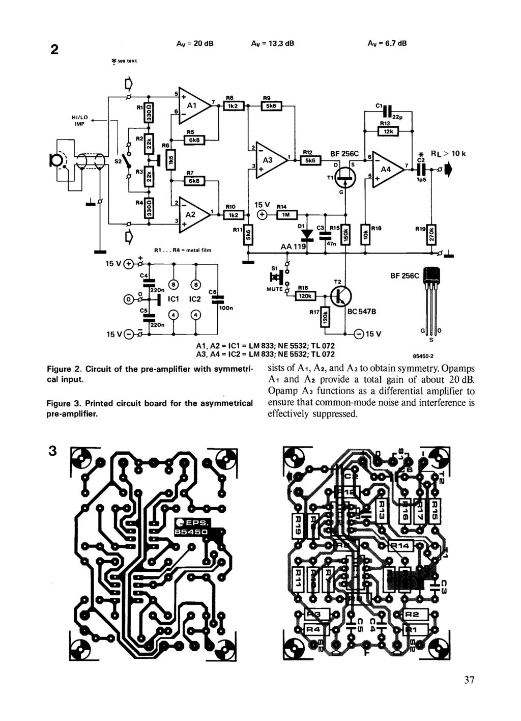 Circuits Elektor Electronics Pdf Stripboard Projects Timer No 1 Schematic The Rest Of Ron S 2 Ic See Text Av Db 133 6