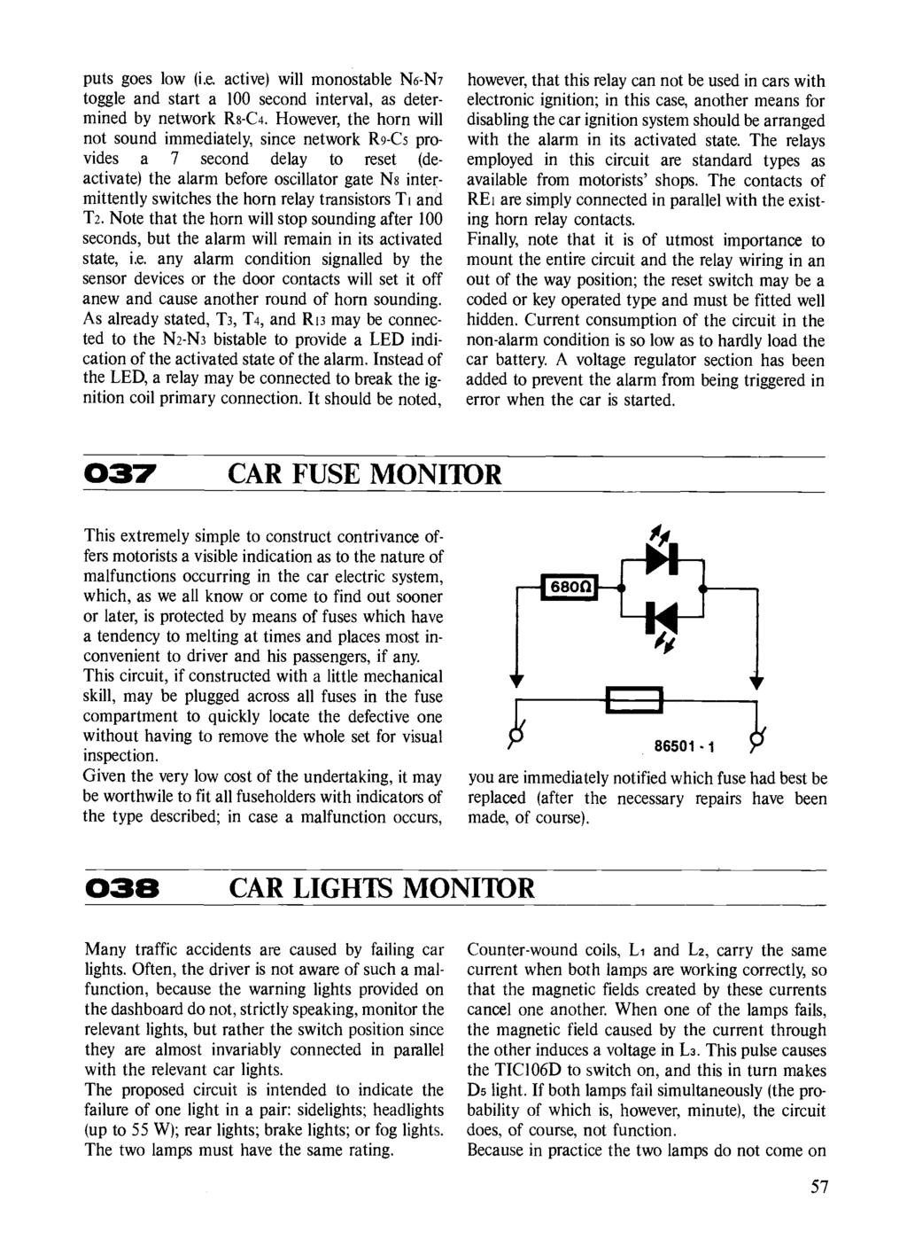 Circuits Elektor Electronics Pdf Circuit The Relay Switch 4 7k 9v As Aug Ldr A To Light Puts Goes Low Ie Active Will Monostable N6 N7 Toggle And Start