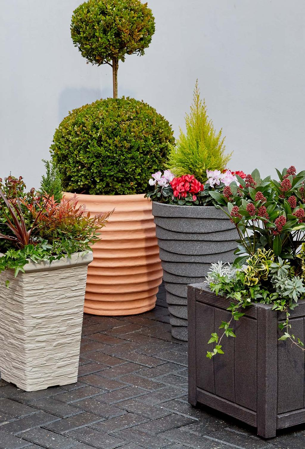 Sizes and Colours! Sankey Garden Planters and Troughs Huge Range of Styles
