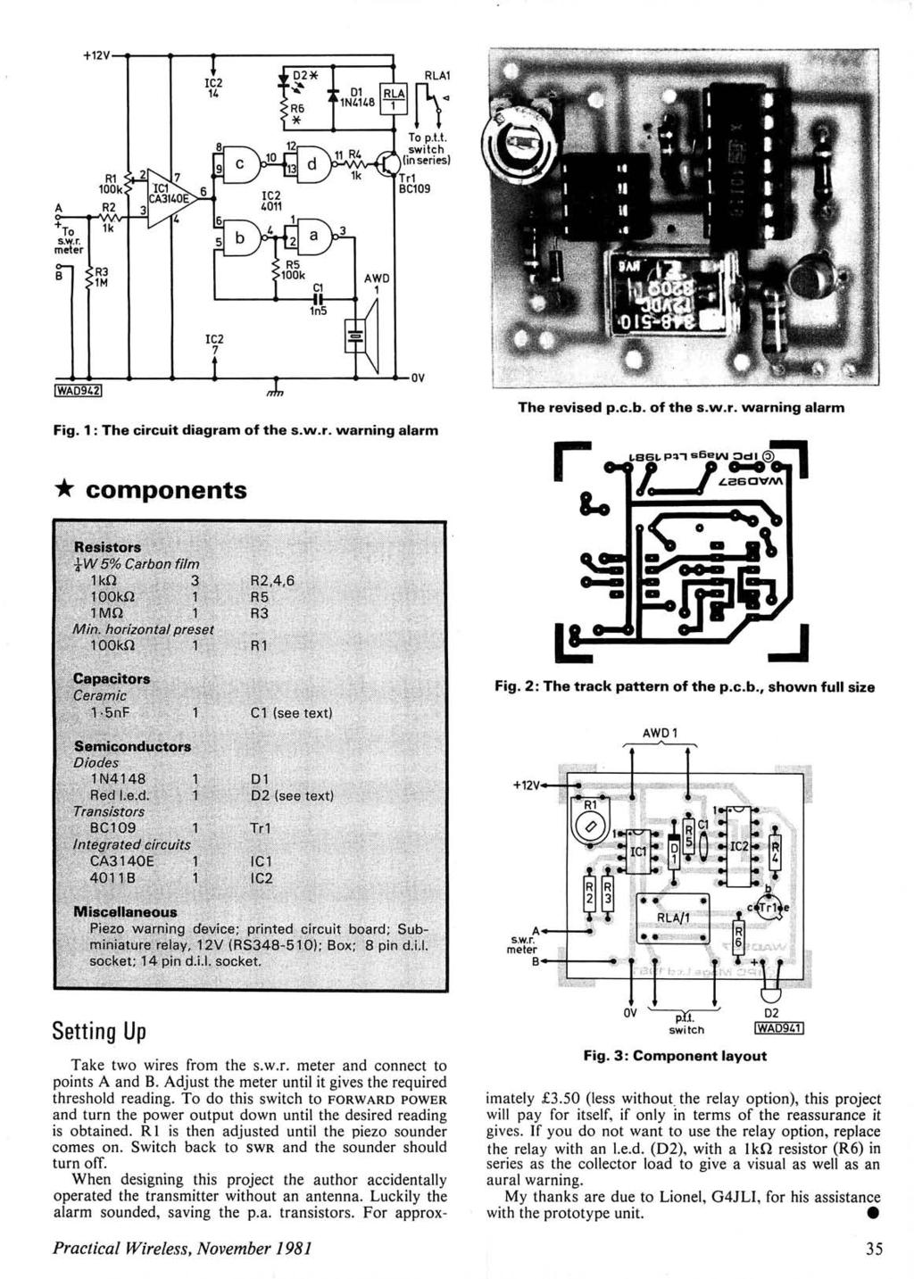 Lcssa Cf Aoic Teams 16m 23 H F Band 2n2907 In The Reverse Unit Project Schematic Circuit Diagram And Datasheet 12v Ry Rlal A To Swr Meter B Rl Look R2 Lk R3 Lm