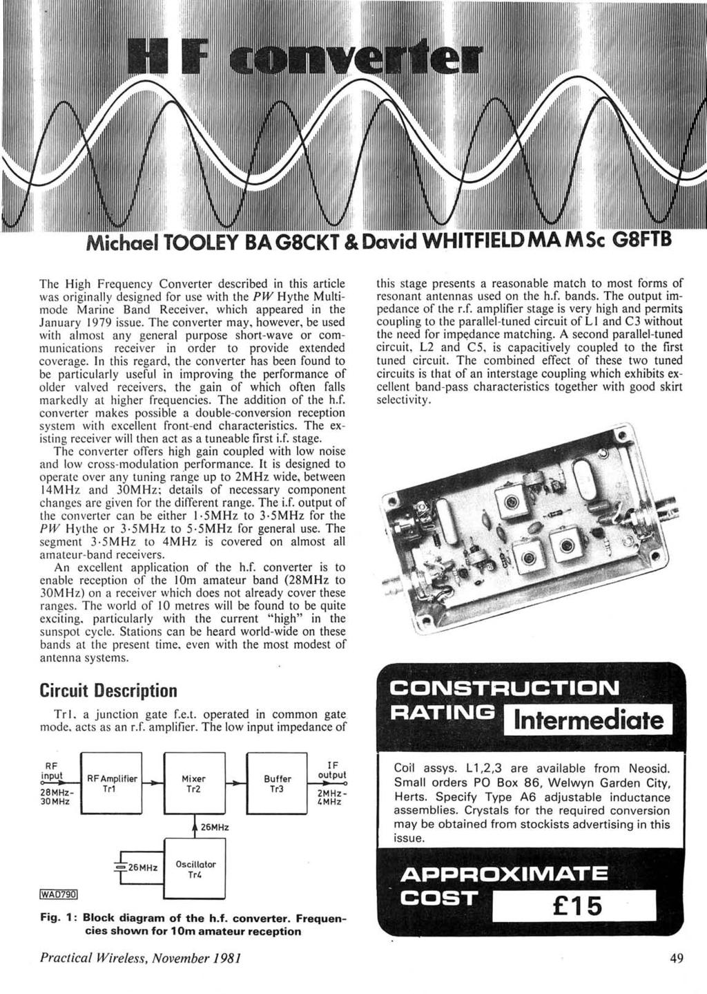 Lcssa Cf Aoic Teams 16m 23 H F Band 35w Power Amplifier Based On Lm391 Circuit Diagram Americanradiohistory