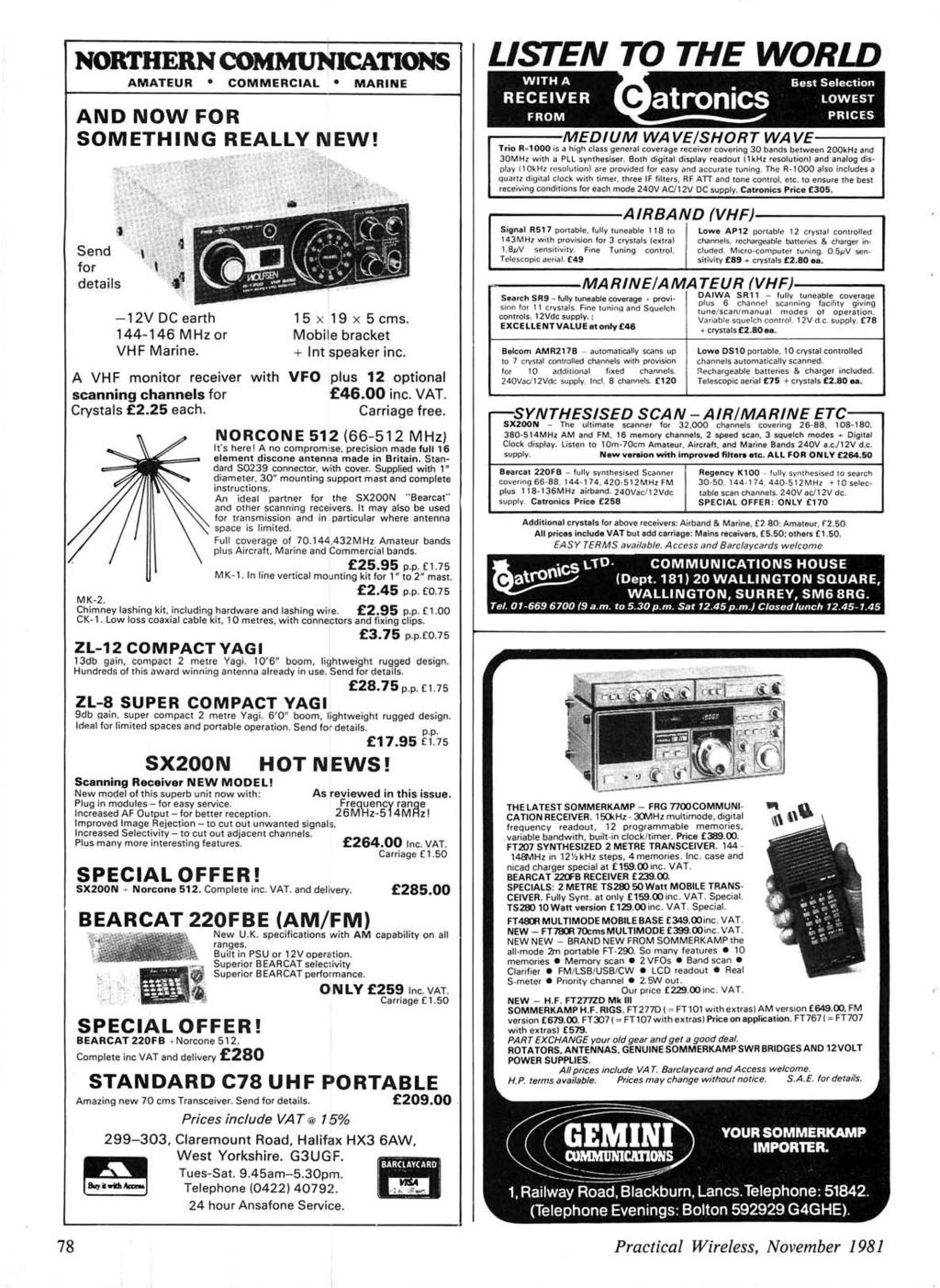 Lcssa Cf Aoic Teams 16m 23 H F Band Fet Preamp With Tone Control By 2n3819 78 Northern Communications Amateur Commercial Marine And Now For Something Real Send Details 12v