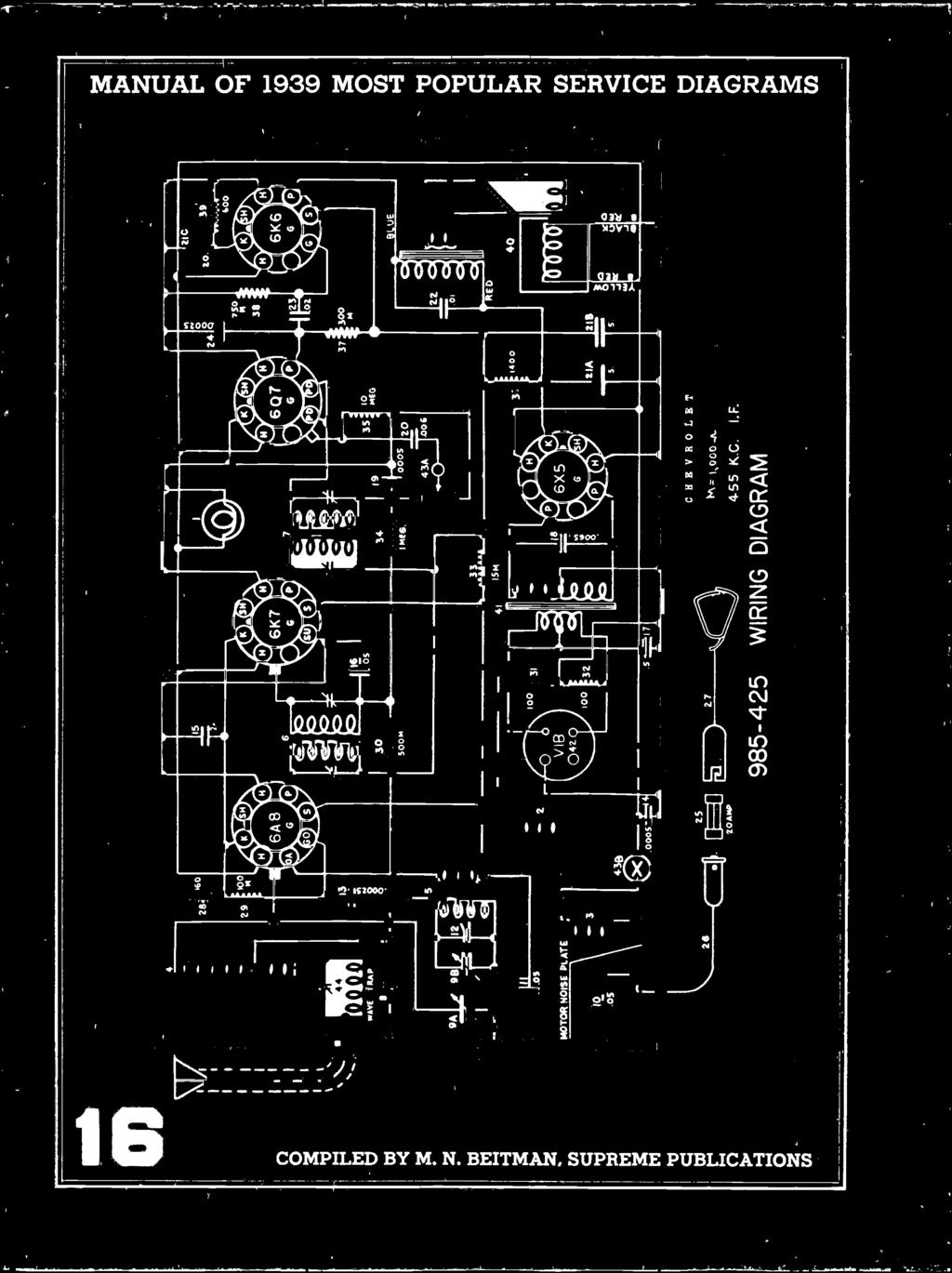Most Often Needed Radio Diagrams And Servicing Information Mau Wiring Diagram 18 4 55 Kc If